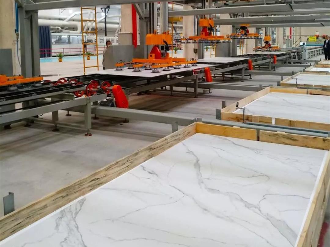 盘点国产岩板生产线,谁的设备最贵?