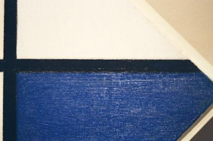 只剩下线条跟色块,竟然产生特别的艺术感?