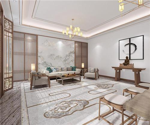 精裝房預算做豪宅的裝修,用歐神諾的磚可以輕松實現