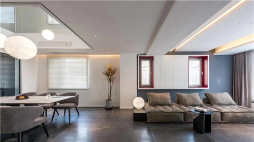 天津歐文萊實景案例分享?| 簡約素雅私宅 細品現代居住美學