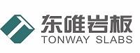 东唯岩板logo