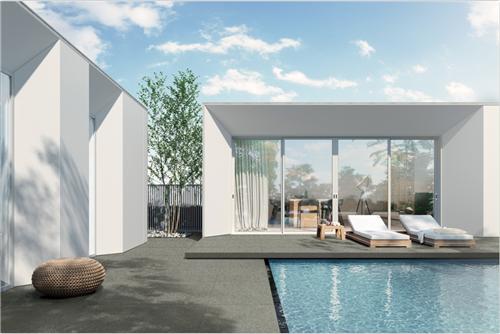 【歐神諾厚磚】打造16℃品質泳池,解救夏天!