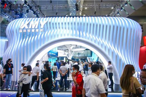 本次潭洲展最具特色的是KMY国际轻奢瓷砖?三大看点值得回顾!
