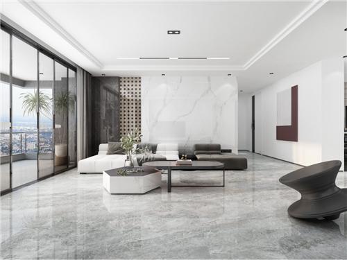 欧神诺瓷砖:120㎡现代极简风案例,全屋无主灯设计,太有腔调了!