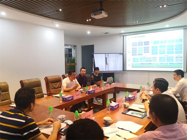 禅城区委常委等领导莅临欧神诺云商科技调研指导