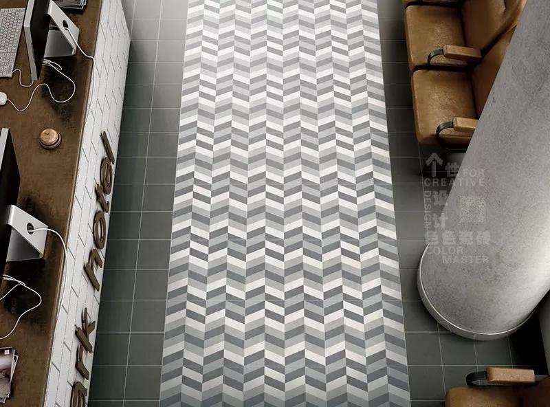 瓷砖走廊图片